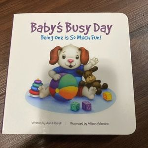 Baby's Busy Day Board Book by Ann Harrell-New!